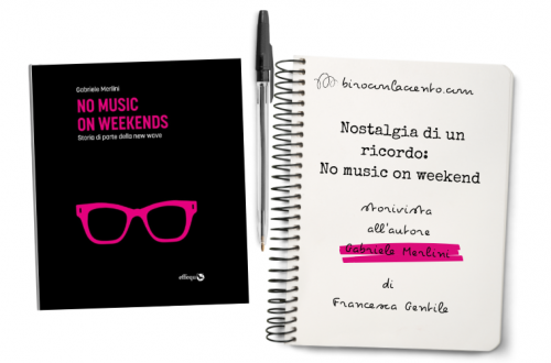 copertina del libro No musin on weekend