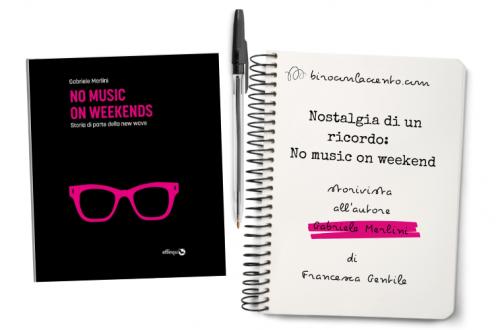 copertina del libro No musin on weekend